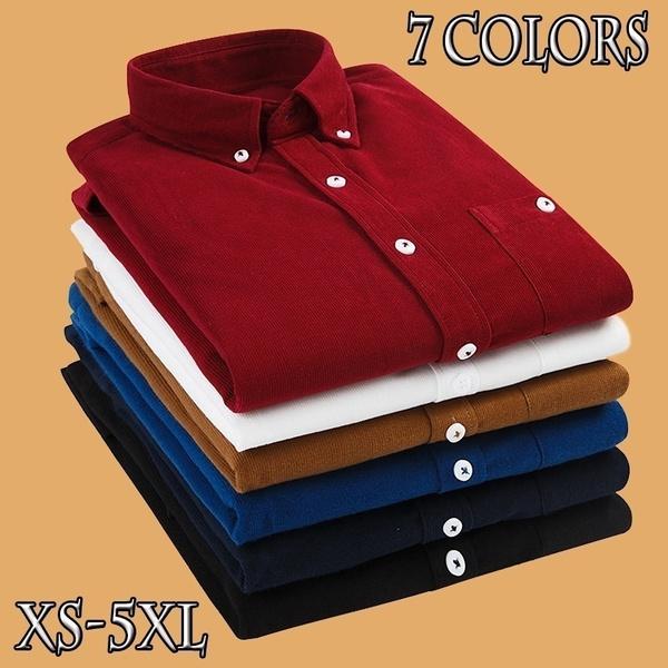Fashion, Shirt, corduroyshirt, largesizeshirt