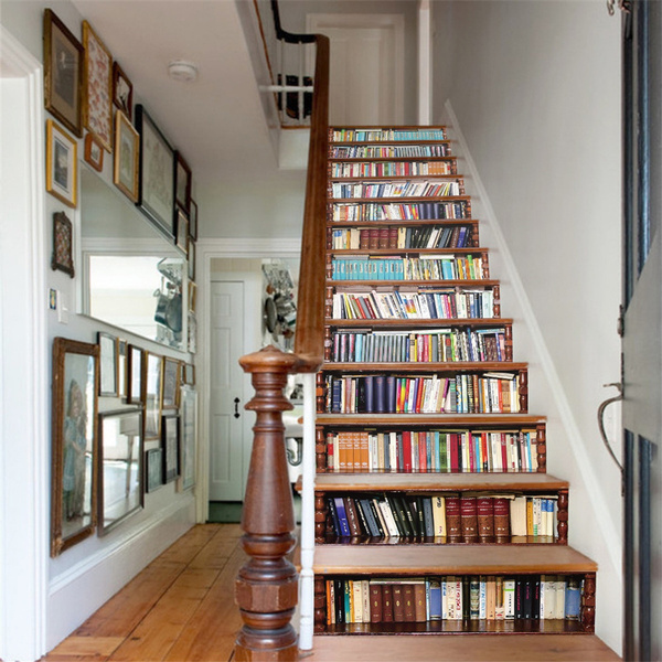 Home Decor, staircase, Home & Living, Stickers