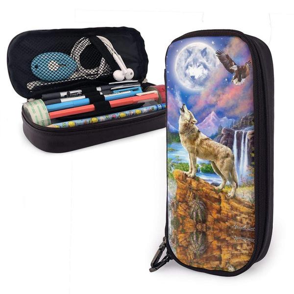 puleatherpencilcase, case, pencase, Makeup bag