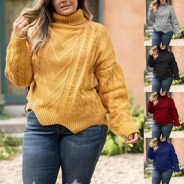 knitwear, Plus Size, sweaters for women, Sleeve