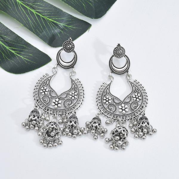Tassels, Hollow-out, vintage earrings, Vintage