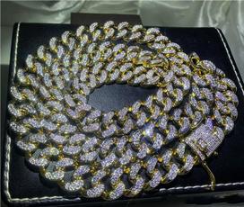 cuban, Bling, Jewelry, Chain