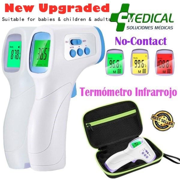 termometro, thermometergun, termometroinfrarojo, infraredforeheadthermometer