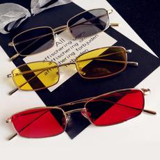 squarerimmedglasse, Goggles, Sunglasses, Colorful
