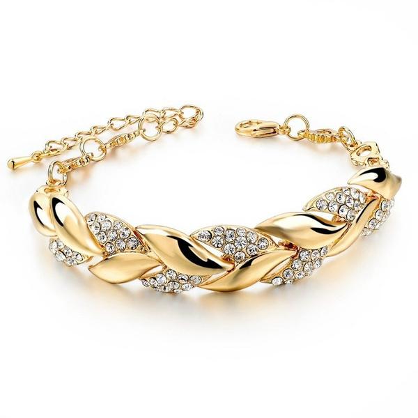 Charm Bracelet, leaf, Jewelry, Gifts