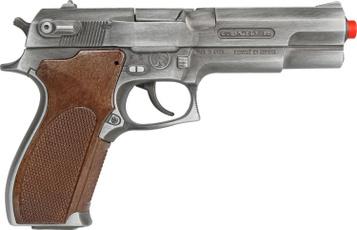 capgun451gonherpolicepistol8shot, Cap, pistol, gun