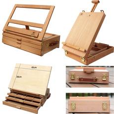 Box, easel, layersdrawer, sketchboard