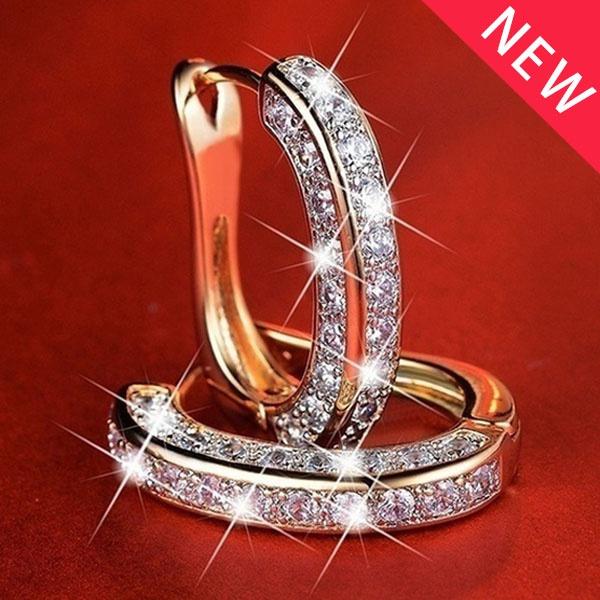 DIAMOND, Ladies Fashion, Crystal, engagementearring
