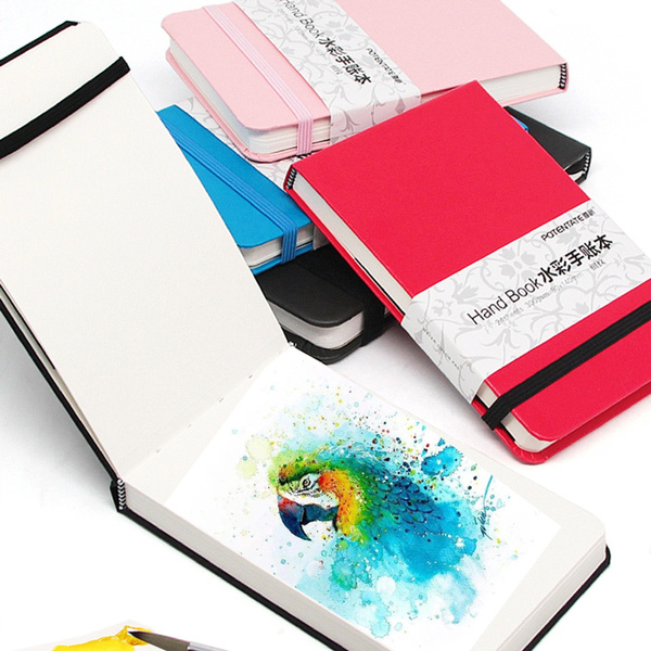 Art Supplies, account, bookpaper, water