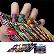 stripingtapeline, nail decoration, naillinesticker, manicure