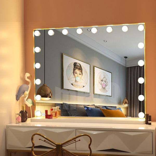 Embellir Lighted Makeup Mirror With, Embellir Hollywood Makeup Mirror With Light Led Bulbs Vanity Beauty