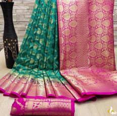 Beautiful, saree, Nylon, banarasisilk