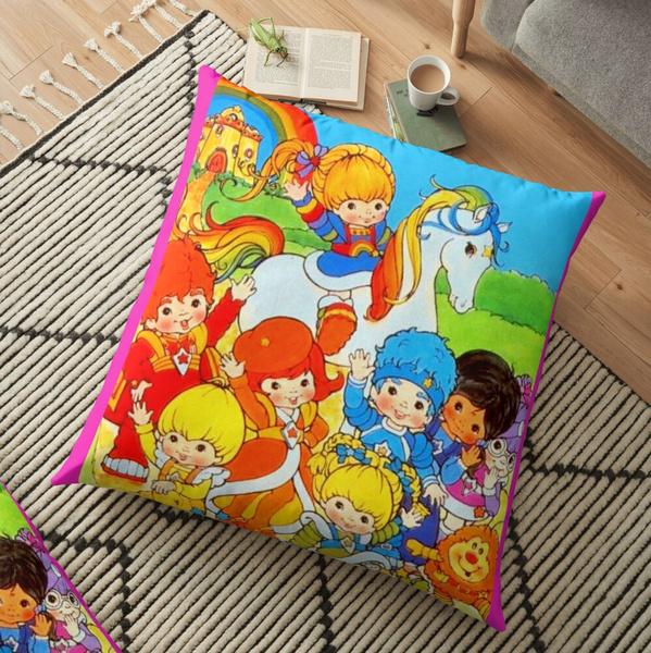 kids, rainbowbritecolorkid, rainbowbrite, decorativepillowcase