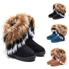furboot, ankle boots, Tassels, Fashion