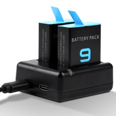 dualbatterychargerforgoprohero9, Battery Charger, batterychargerforgopro9, forgopro9