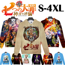3D hoodies, thesevendeadlysin, Fashion, Long Sleeve