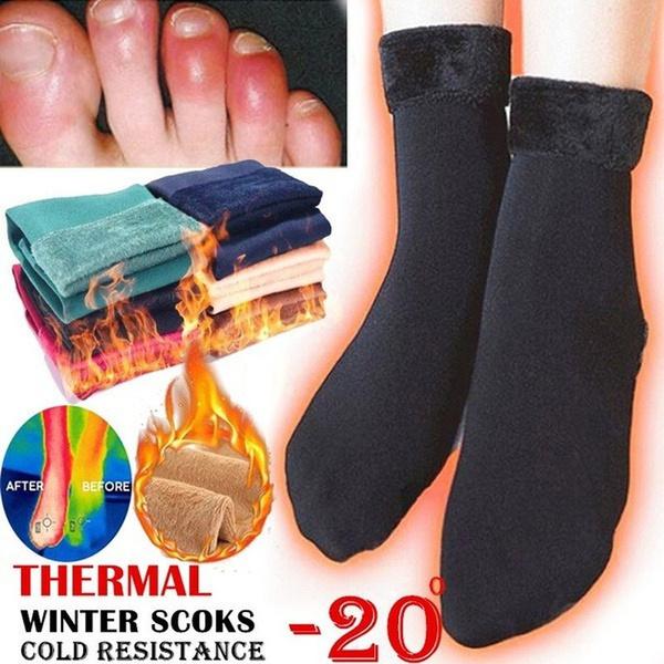 wintersock, Cotton Socks, velvet, Elastic