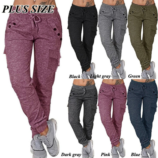 trousers, sport pants, high waist, Casual pants