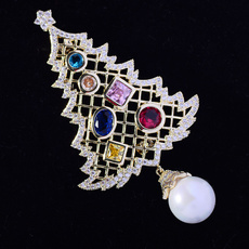 brooches, Christmas, Colorful, Classics