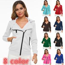 Fashion, hooded, sporty, winter coat