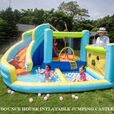 Basketball, jumpingcastle, Sports & Outdoors, house