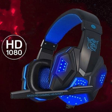 Headset, Video Games, Head Bands, led