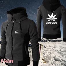 hooded, Winter, zipperjacket, Coat