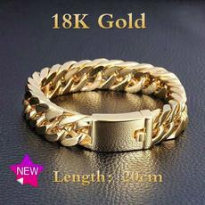 yellow gold, Steel, Jewelry, Chain
