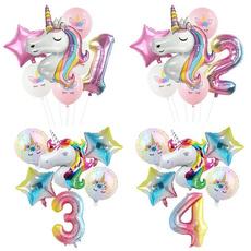 rainbow, Decor, Shower, ballon
