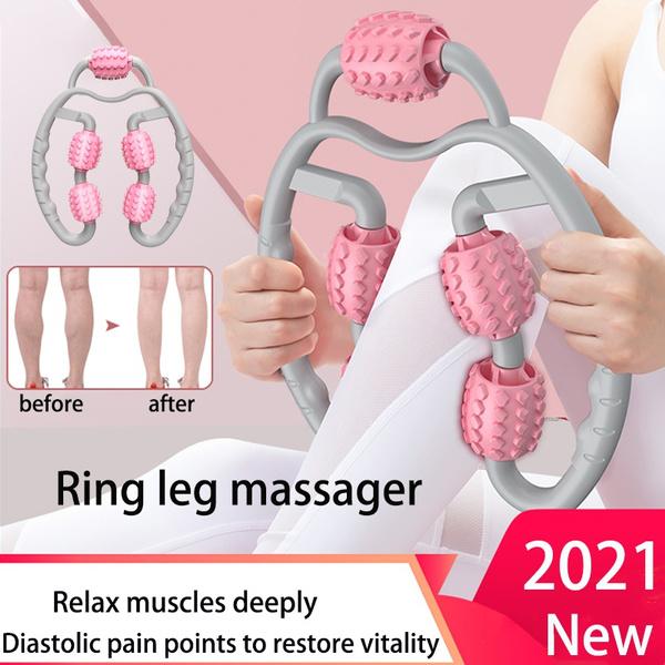 Beautiful, massagestick, Yoga, rollingmassager