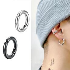 Steel, fakepiercing, Men, Jewelry