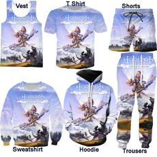 Vest, Shorts, Men, horizonzerodawn