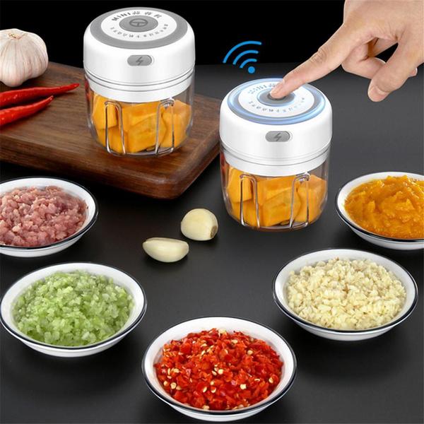 Mini, cortadordelegume, usb, vegetablechopper