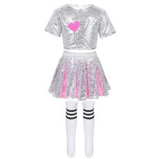School, shinydanceoutfit, Cosplay, cheerleadingskirt