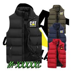 sleevelessdownjacket, Vest, Fashion, zipperjacket