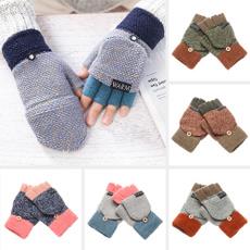 fingerlessglove, Winter, knittedglove, thickglove
