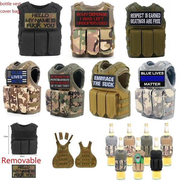 Mini, Vest, waterbottledecoration, badgespatche