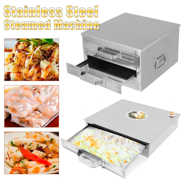 ricerollsteamermachine, Steel, foodsteamer, pastrytool