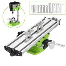 Mini, electricdrillstand, worktable, drillingslidetable
