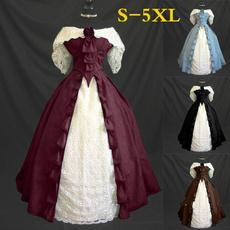 woman dress, Medieval, Corset, long dress