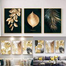 Decor, leaf, Home Decor, gold