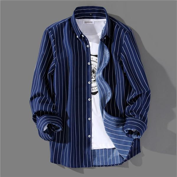 handsome, Fashion, koreanversion, Sleeve
