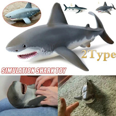Shark, Toy, Christmas, Gifts
