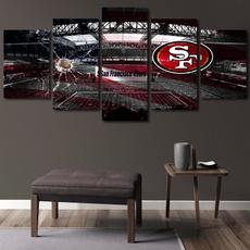 Home & Kitchen, Decor, Football, Wall Art