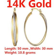 earringforwomen, 14kgoldearring, Hoop Earring, Dangle Earring
