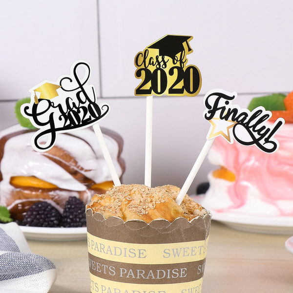 graduationcaketopper, beautifulcakedecor, dessertinsertcard, Cake