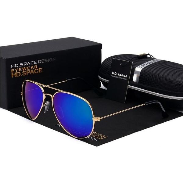 golden, aviator glasses, Fashion, unisex
