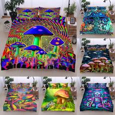 3pcsbeddingset, kingsizebeddingset, art, Colorful