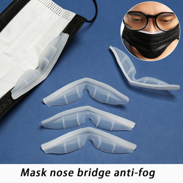 antifoggingstrip, masktopreventgasandfog, antifog, Silicone