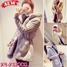 winteroutwear, hooded, knittedcoatswomen, Winter